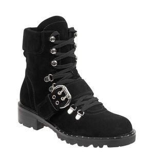 Marc Fisher combat boots
